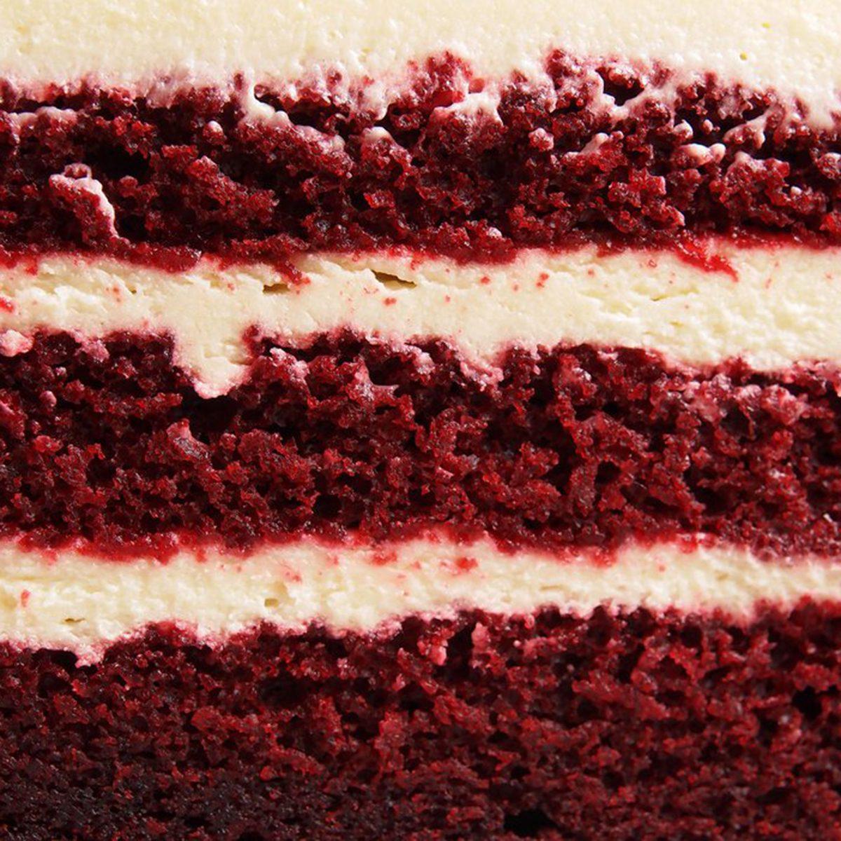 TGI Friday's Red Velvet Sparkler Cake