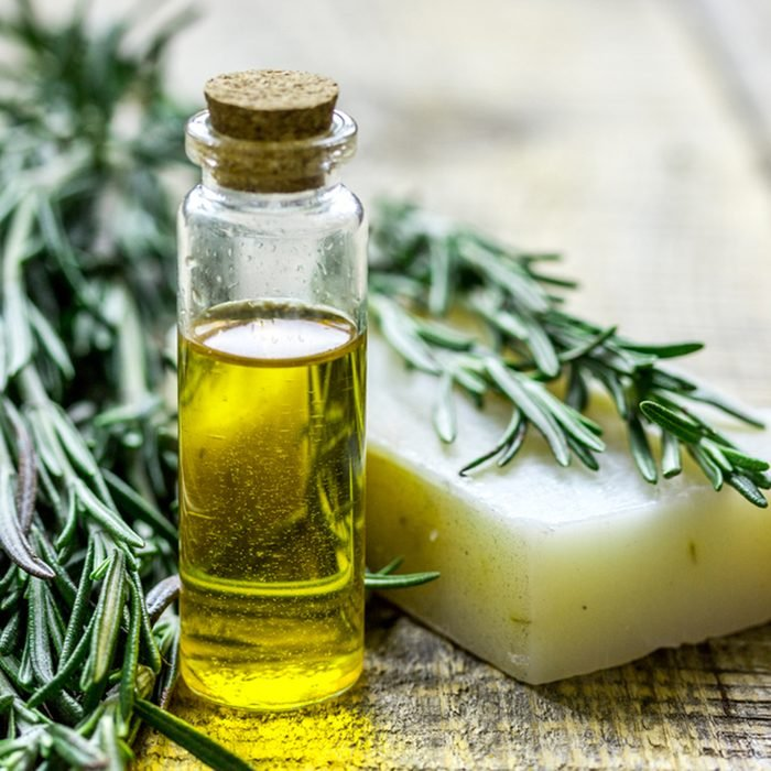 homemade spa with herbal extract in oil with soap on wooden table background; Shutterstock ID 632369480; Job (TFH, TOH, RD, BNB, CWM, CM): TOH