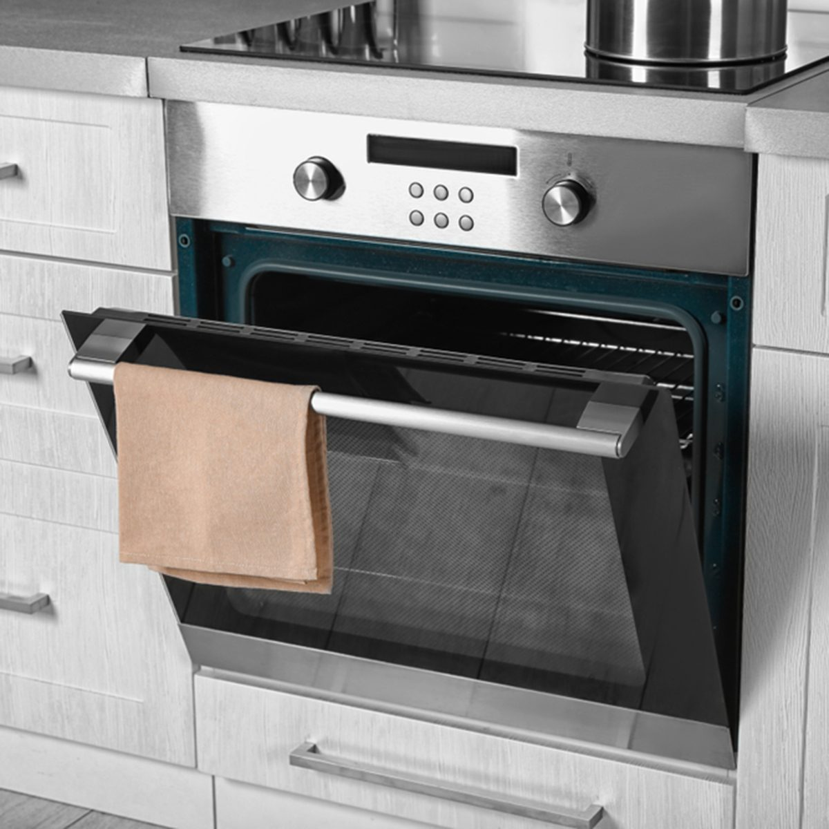 New electric oven in kitchen; Shutterstock ID 790361734