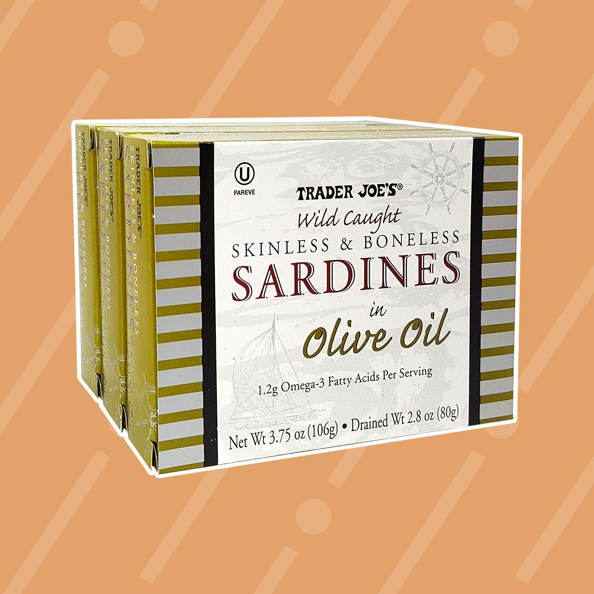 Trader Joe's: Trader Joe's Skinless & Boneless Sardines in Olive Oil