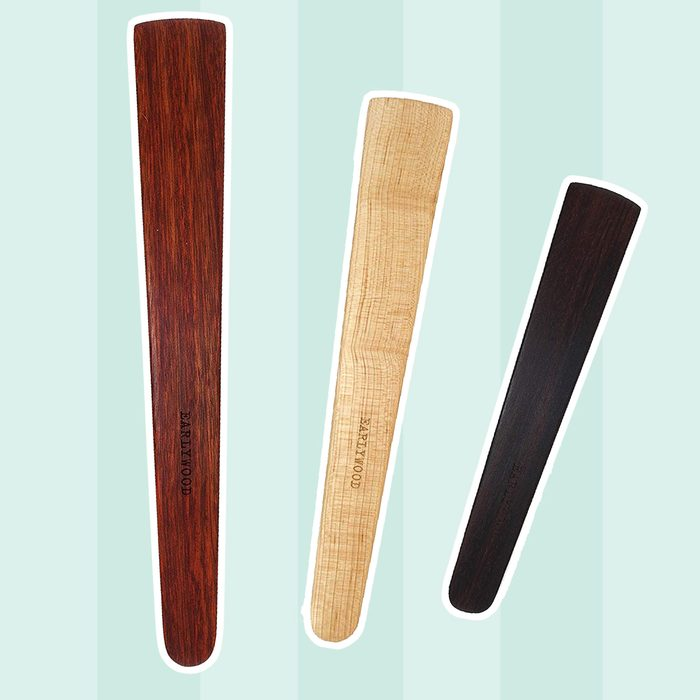wooden spatula set