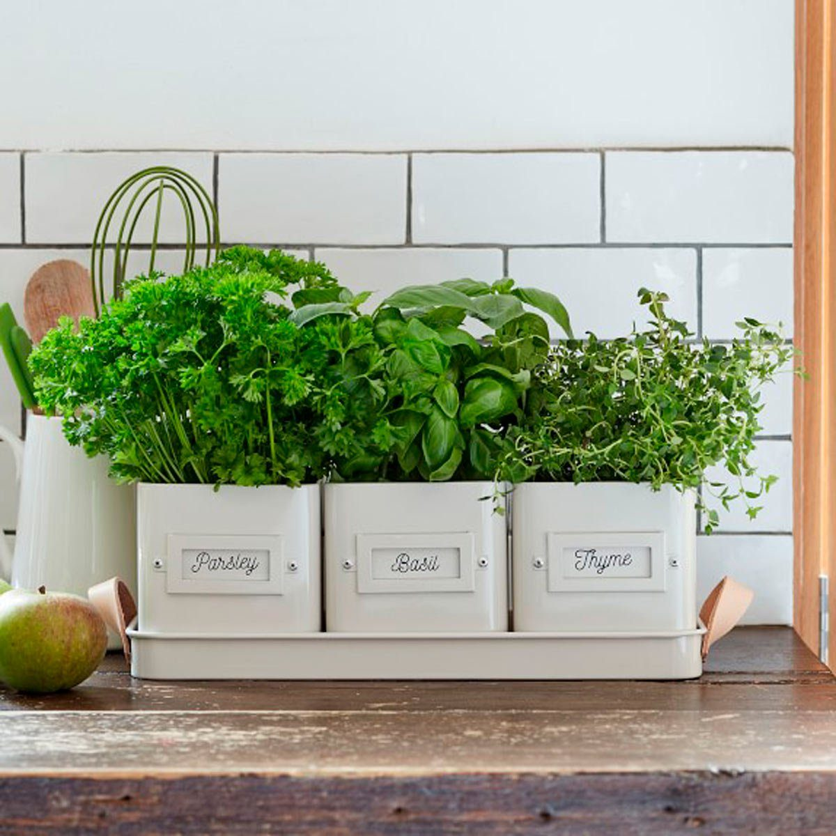 10 Charming Indoor Herb Garden Planters Taste Of Home