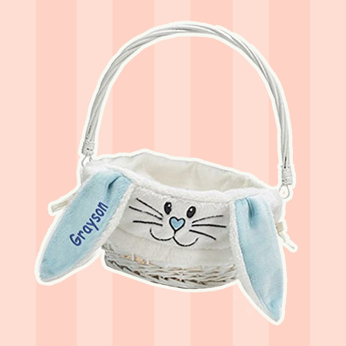 Adorable Bunny Basket