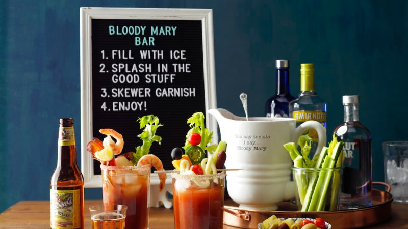 Bloody Mary Sunday Brunch Bar