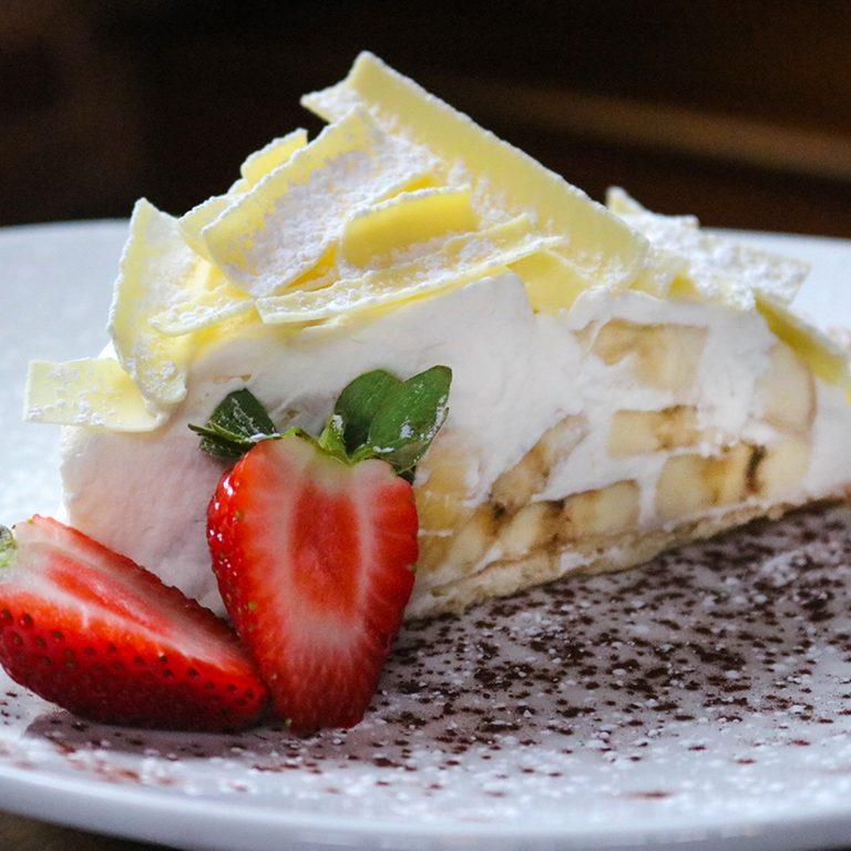 Soby's banana cream pie