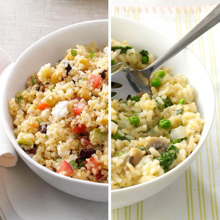 Quinoa for Rice