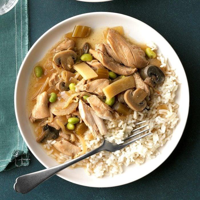 Pressure-Cooker Chicken Chop Suey