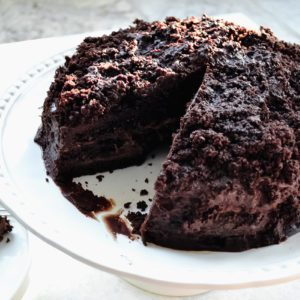 We Made a Rich, Dark Chocolate Cake That Became Famous After WWII