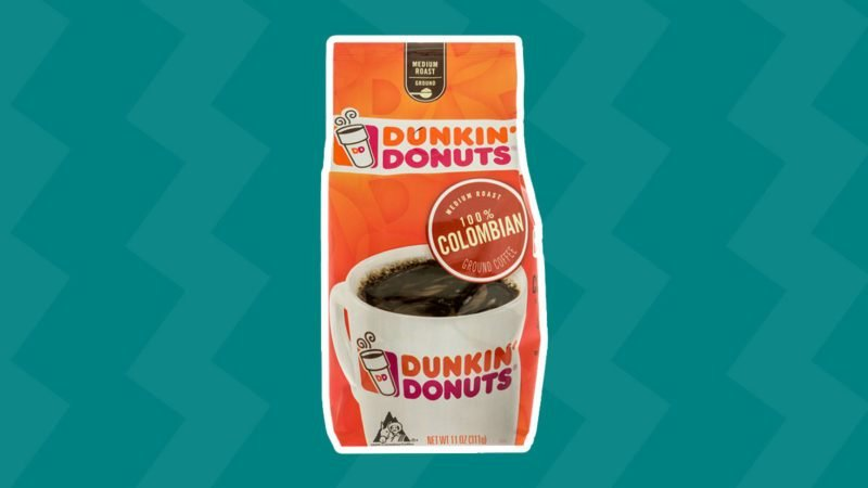 Bag of Dunkin Donuts coffee