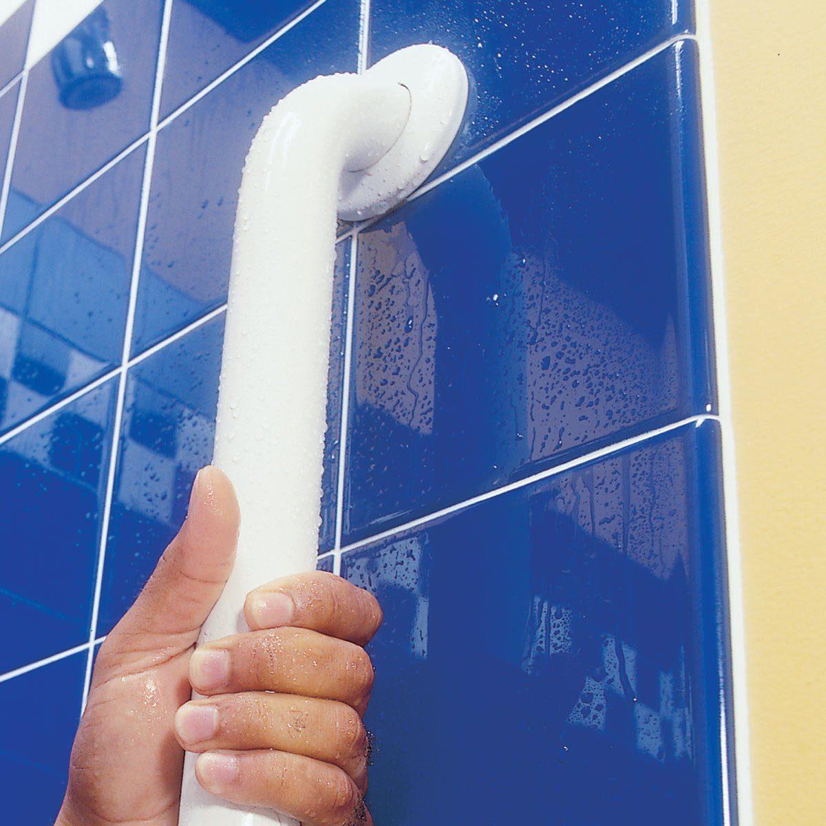Install Bathroom Grab Bars
