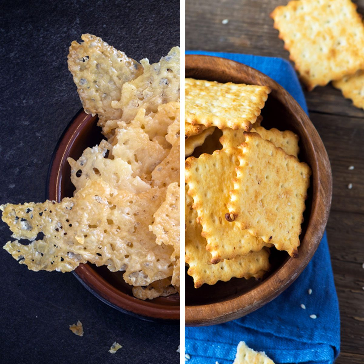 Cheese Crisps for Crackers
