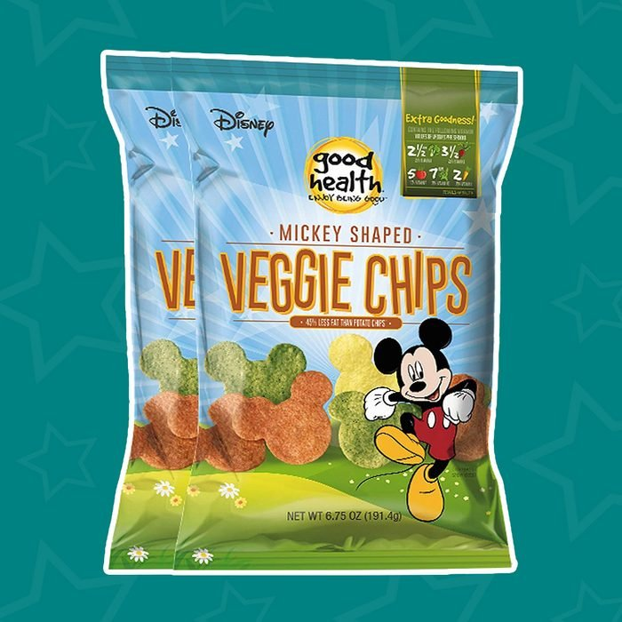 Good Health Mickey Mouse Veggie Chips