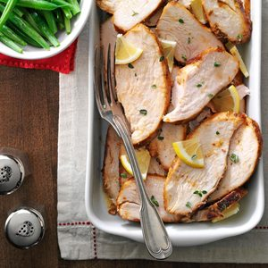 Pressure-Cooker Herbed Turkey Breasts