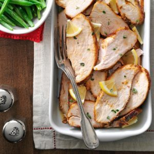 Pressure Cooker Herbed Turkey Breasts