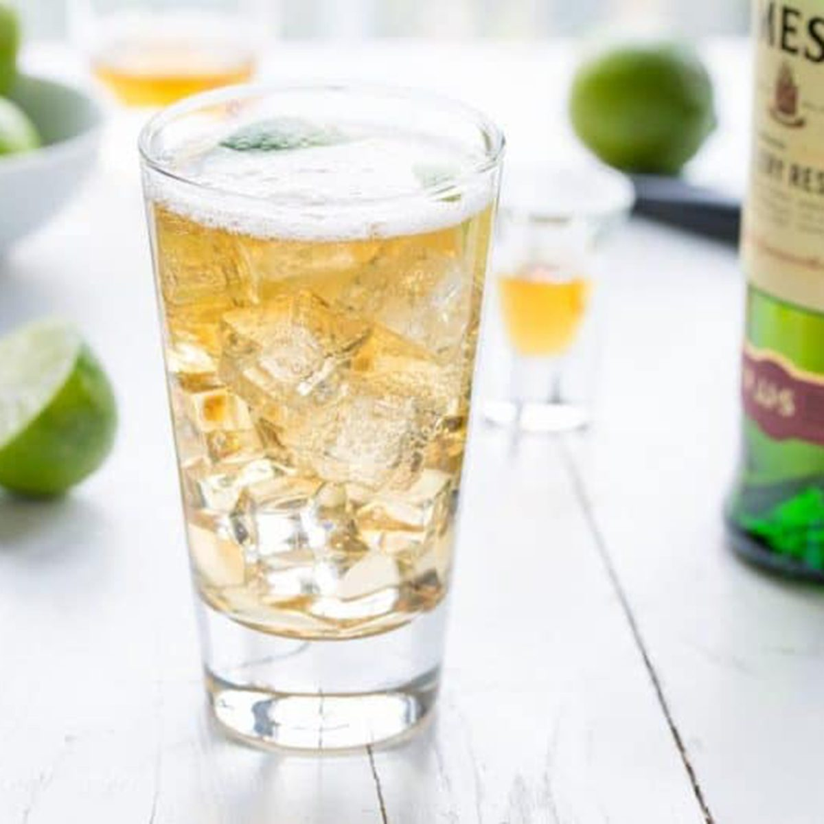 Jameson & Ginger Ale with Lime