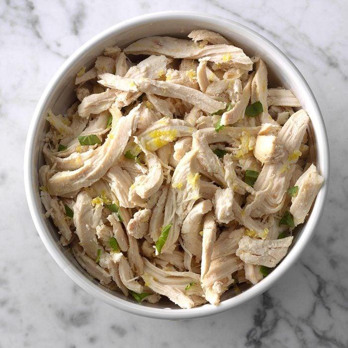 Pressure-Cooker Lemon Chicken with Basil