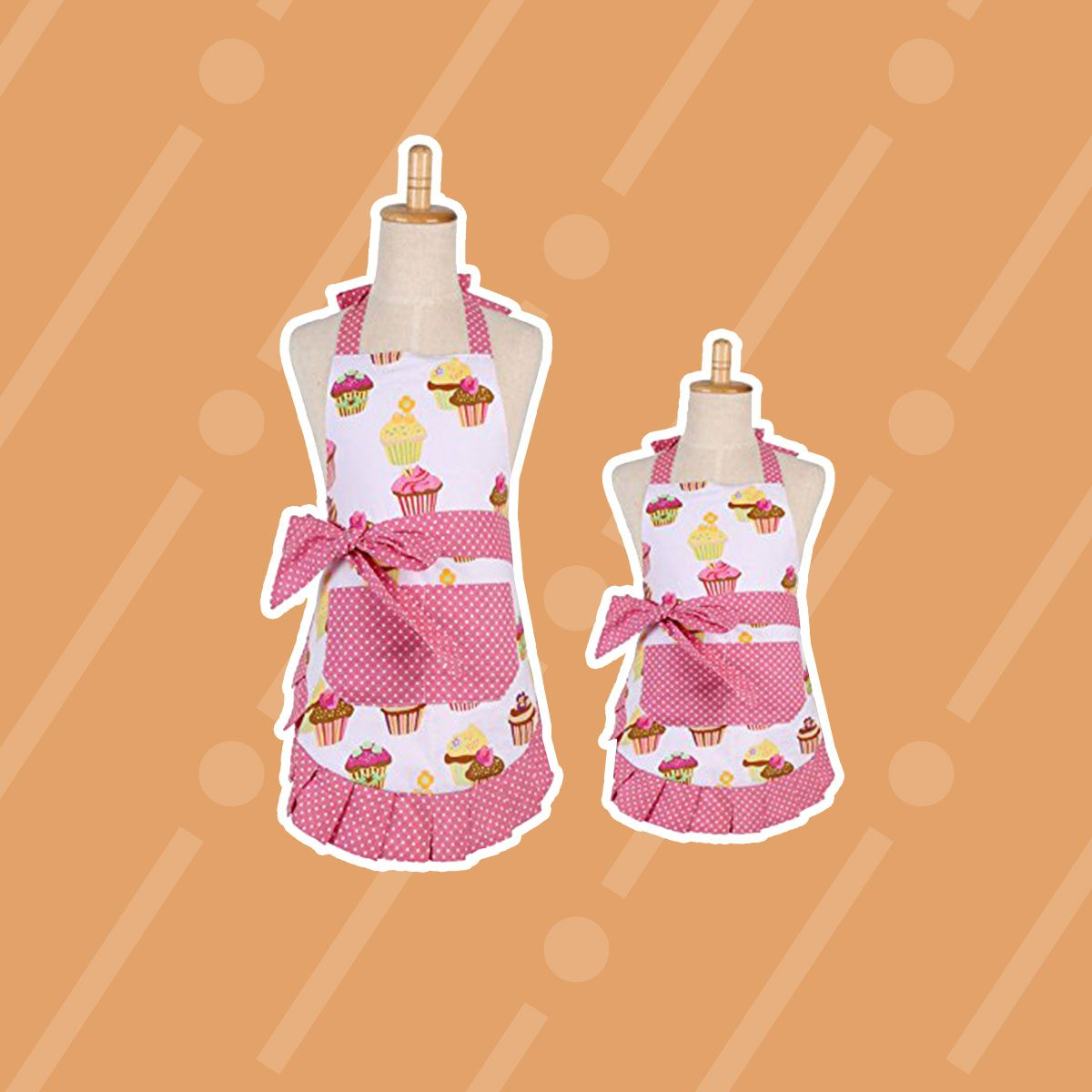 Mama and Me Cupcake Apron Set