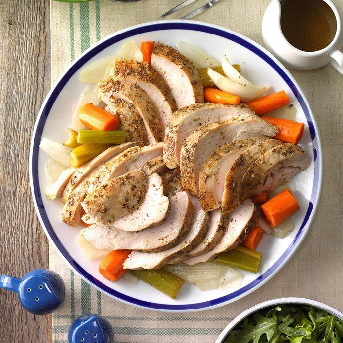 Pressure-Cooker Italian Turkey Breast