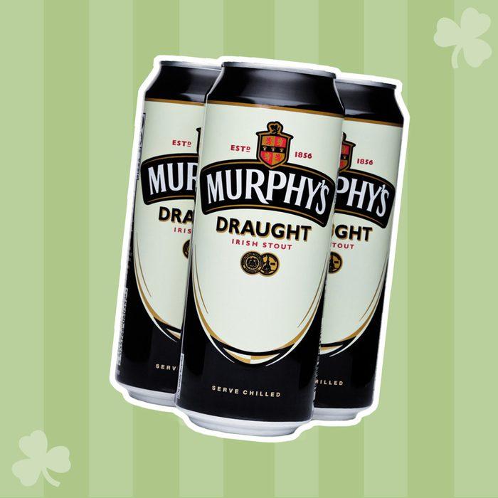LONDON, UK - FEBRUARY 14, 2018: Aluminium can of Murphy's Draught irish Stout beer on white background.; Shutterstock ID 1027529164; Job (TFH, TOH, RD, BNB, CWM, CM): TOH
