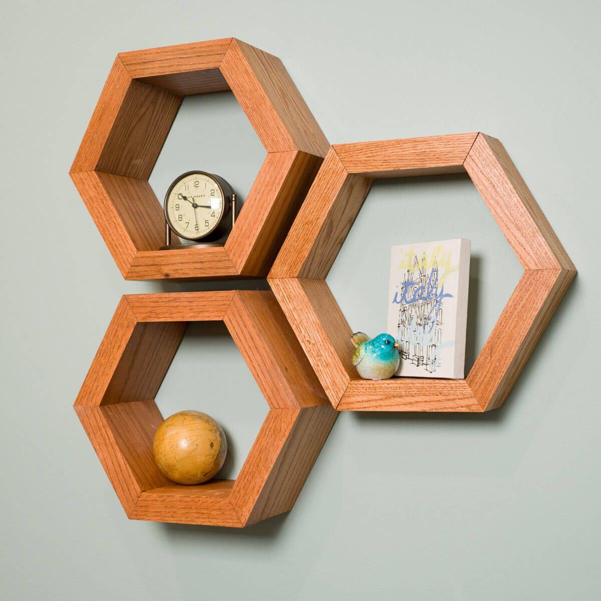 Hexagon Shelves