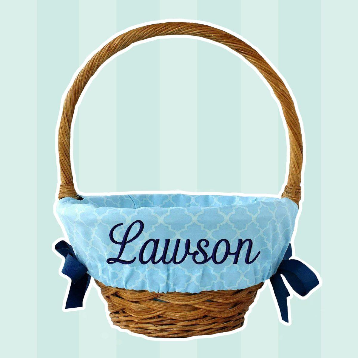 Personalized Easter Basket Liner