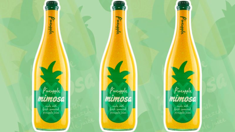 This Aldi Pineapple Mimosa Is Only $8 99 | Taste of Home
