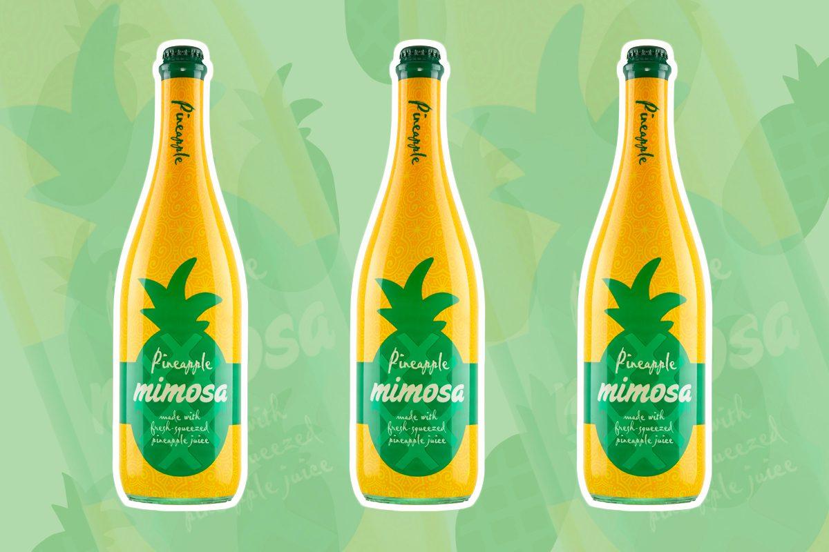 aldi pineapple mimosa