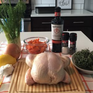 Ina Garten roast chicken ingredients