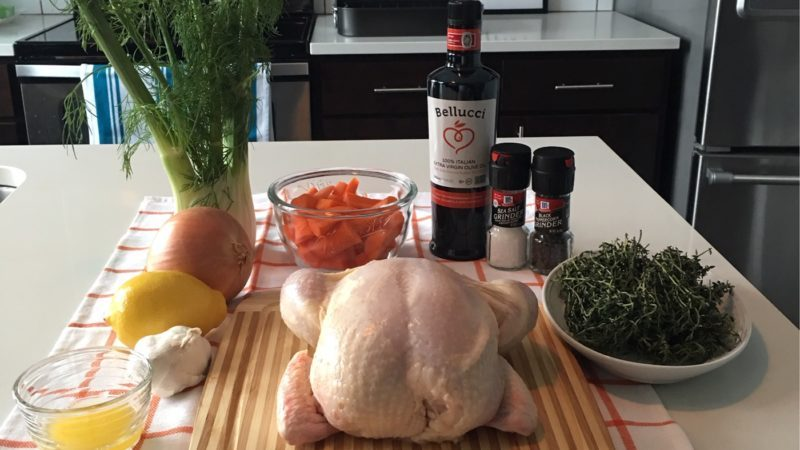 Ina Garten roast chicken ingredients