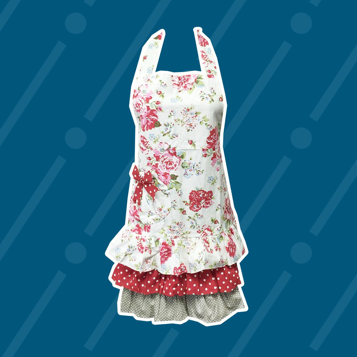 Ruffles and Roses Apron