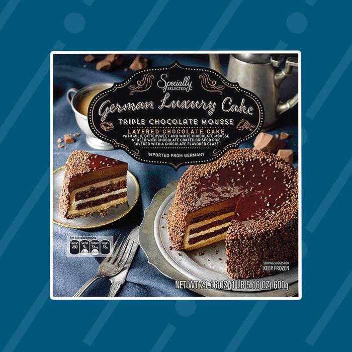 German luxury mousse cake
