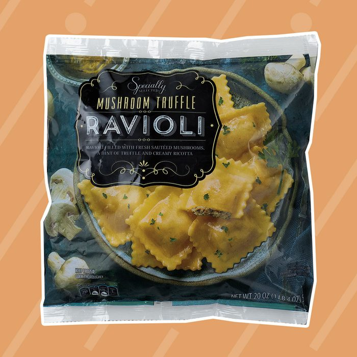Pear & Gorgonzola or Mushroom Truffle Oil Ravioli