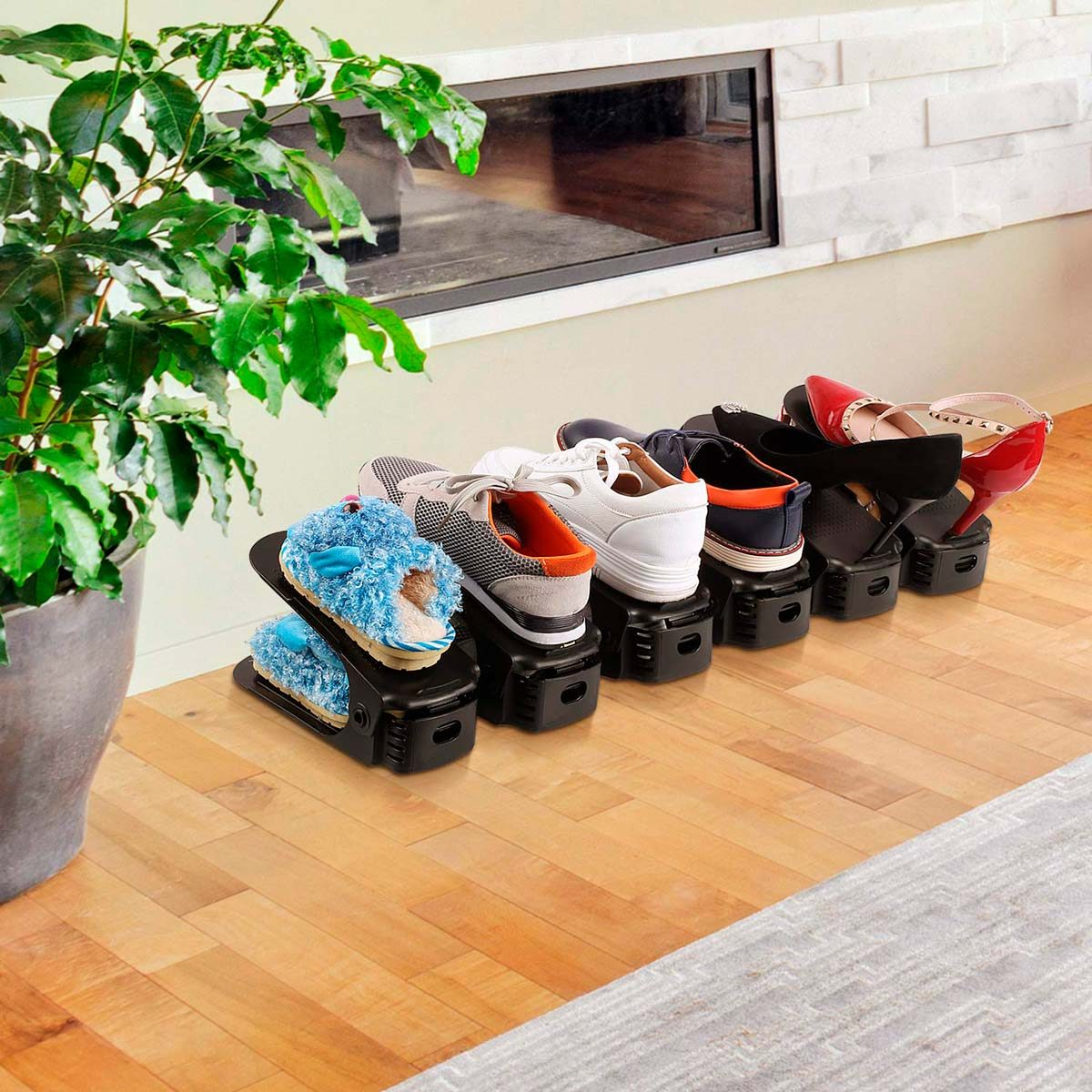 Stack-a-Shoe Organizers