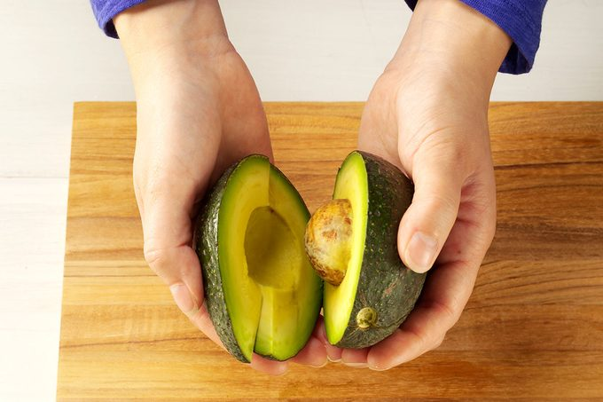 Twisting that avocado