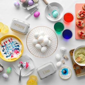 How to Throw an Easter Egg Decorating Party