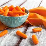 Baby cut carrots