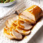 Pressure Cooker Teriyaki Pork Roast