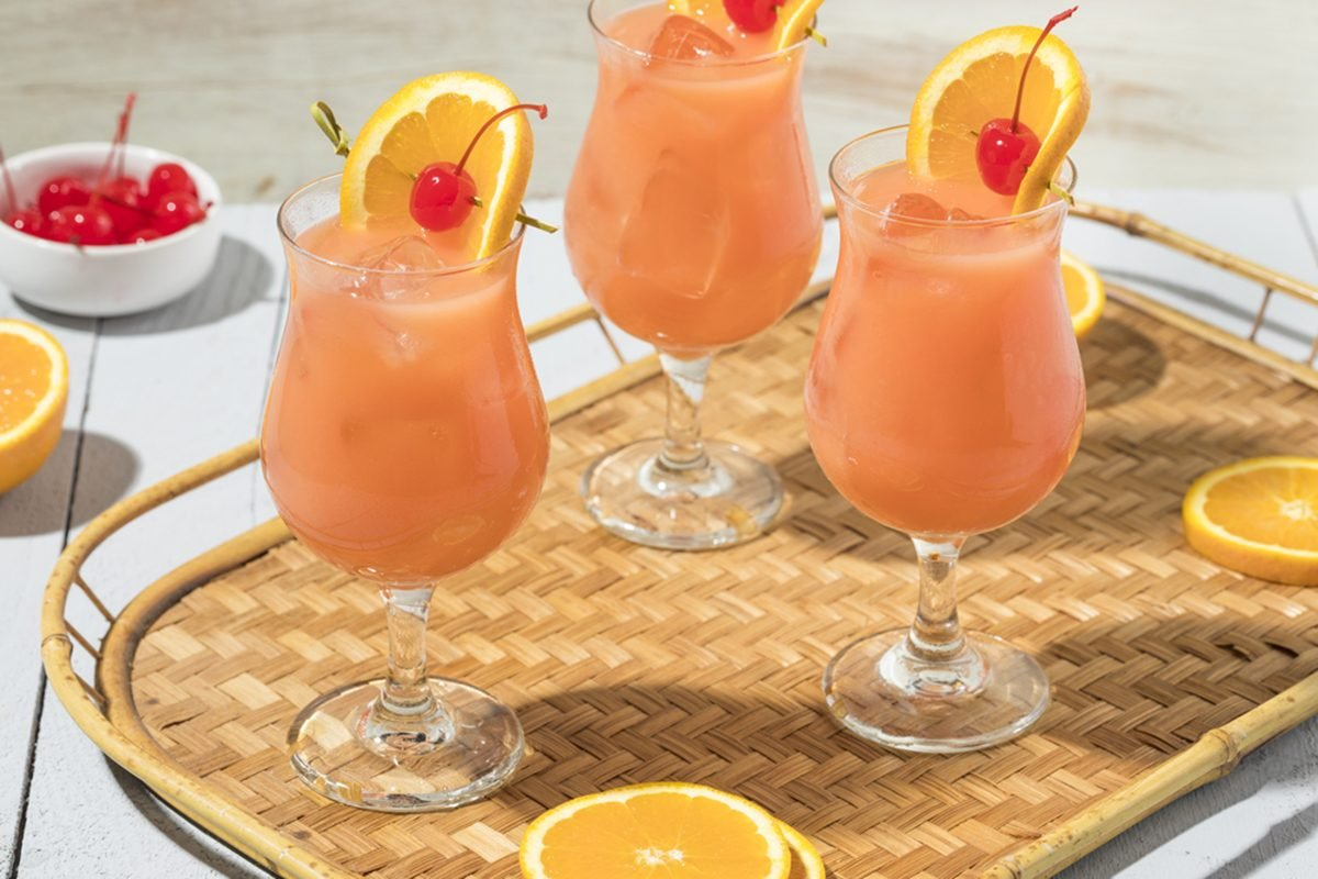 How To Make A New Orleans Style Hurricane Drink Taste Of Home