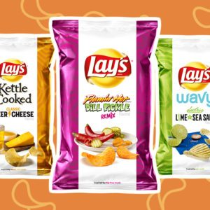 Lay's Just Released Three New Chip Flavors—and They Sound Pretty Tasty