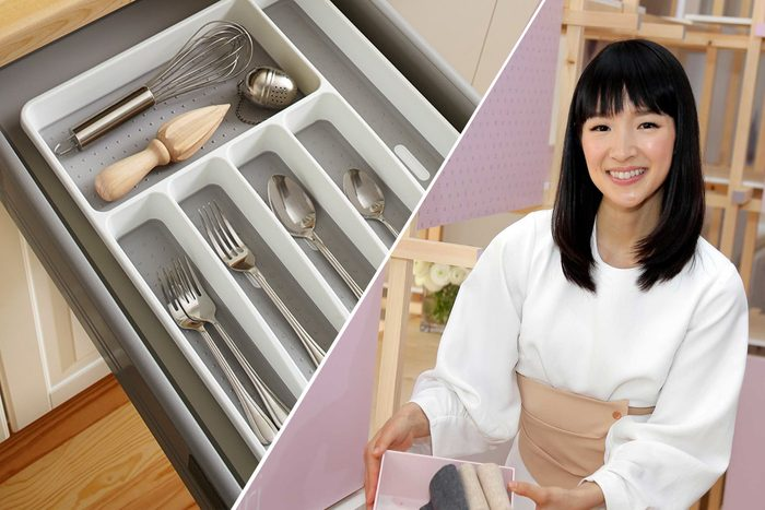 Mandatory Credit: Photo by Seth Wenig/AP/REX/Shutterstock (9769461ch) Marie Kondo poses for a picture during a media event in New York Marie Kondo, New York, USA - 11 Jul 2018