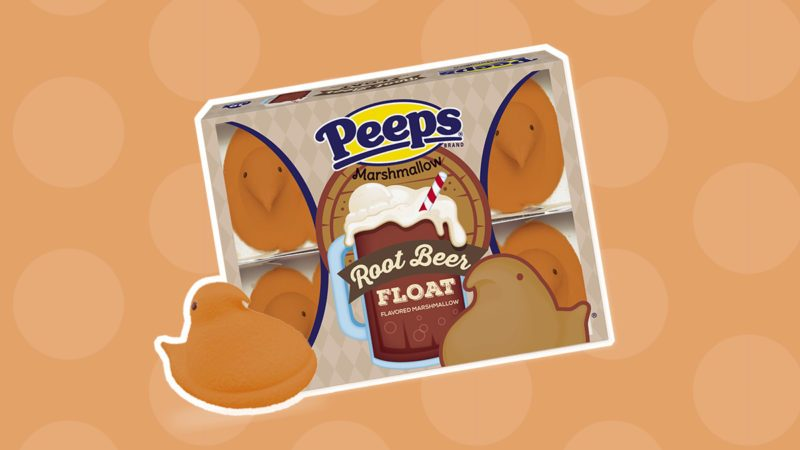 root beer float peeps