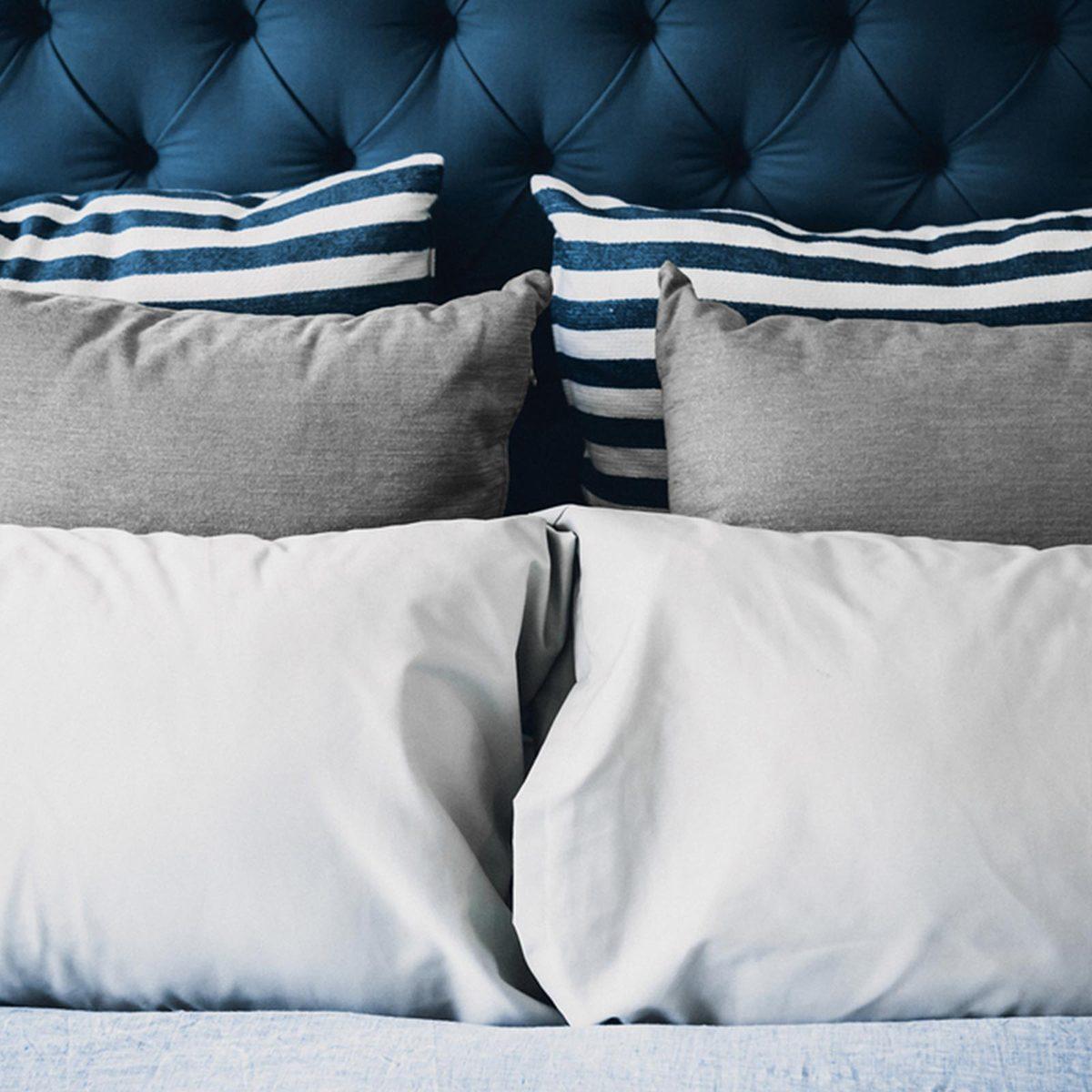 Multiple pillows