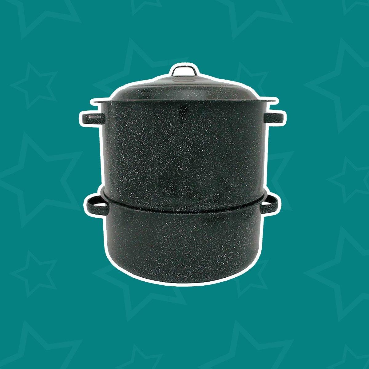 Graniteware Steamer