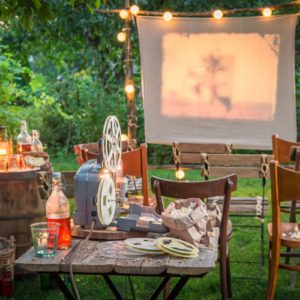 11 Products You Need to Create the Perfect Outdoor Movie Night