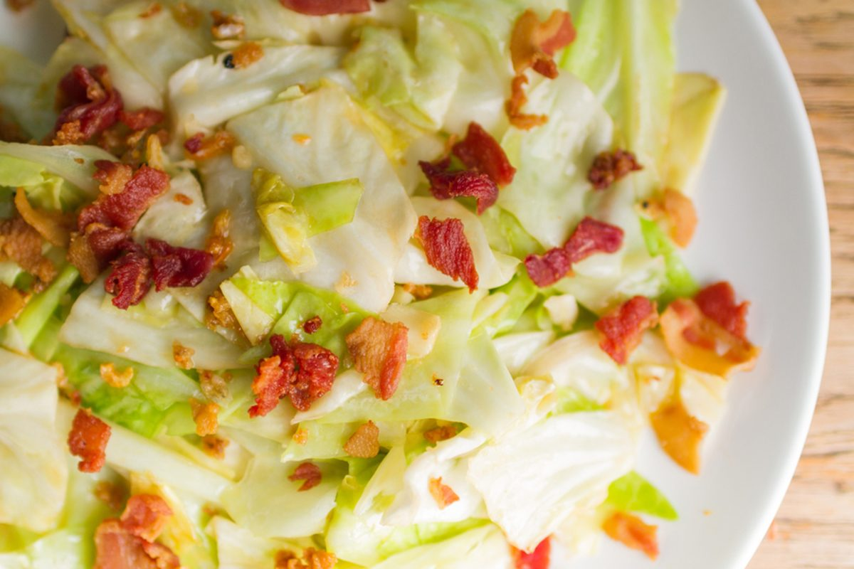 How to Make Southern Bacon Fried Cabbage