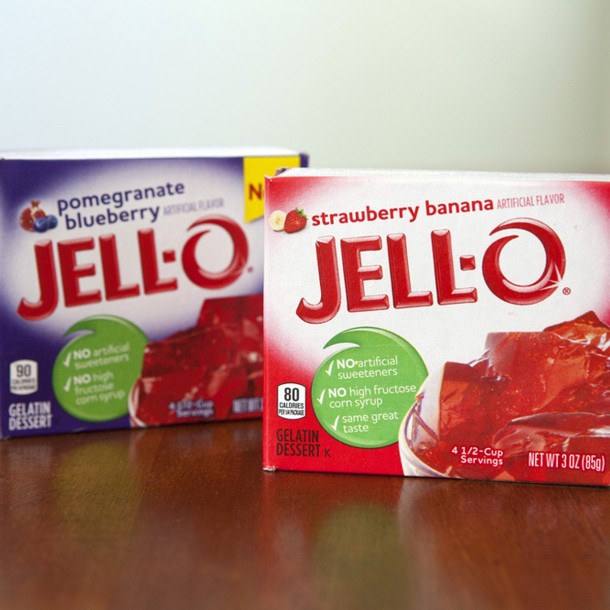 Boxes of Jell-o
