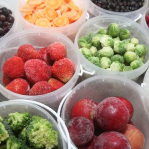 How to Freeze Raw Fruits and Vegetables