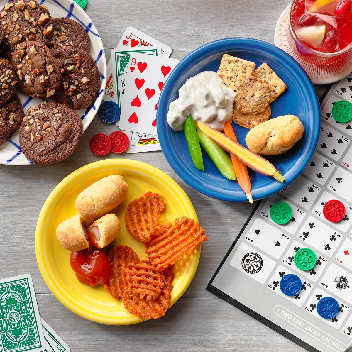 How To Host A Family Game Night Game Themed Snack Ideas