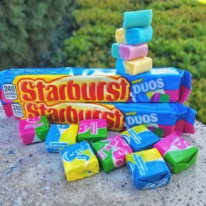 New Starbursts Combine Two Flavors Into the Same Piece of Candy