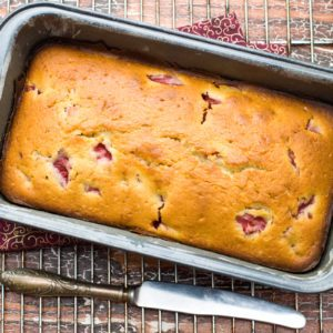 How to Make Strawberry Banana Bread